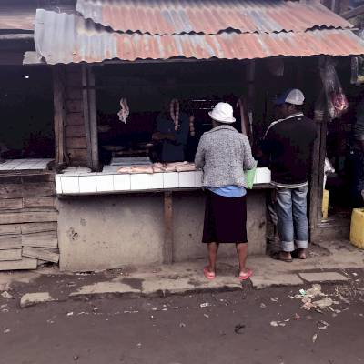 lacour isidore - verso - MORAMANGA - le boucher